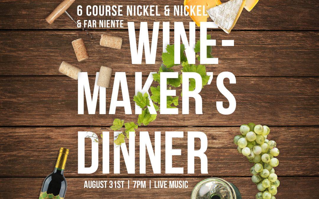 6-Course Nickel & Nickel & Far Niente Wine Dinner at Osetra